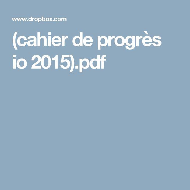 (cahier de progrès io 2015).pdf