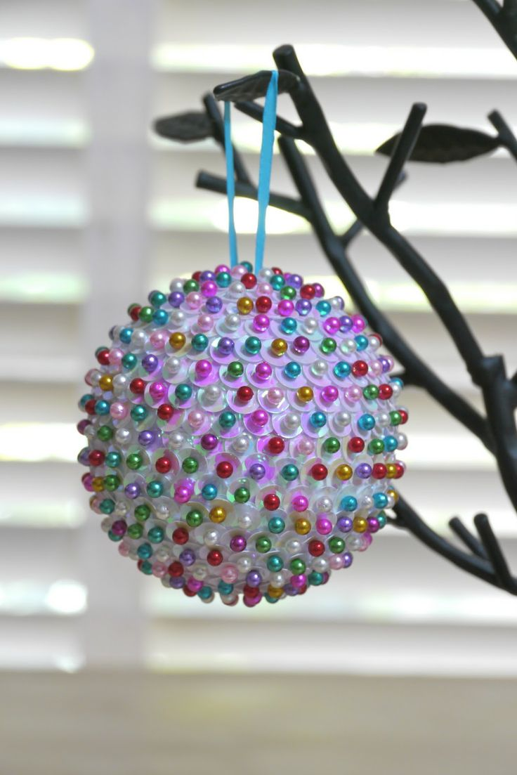 Sequined Ornament