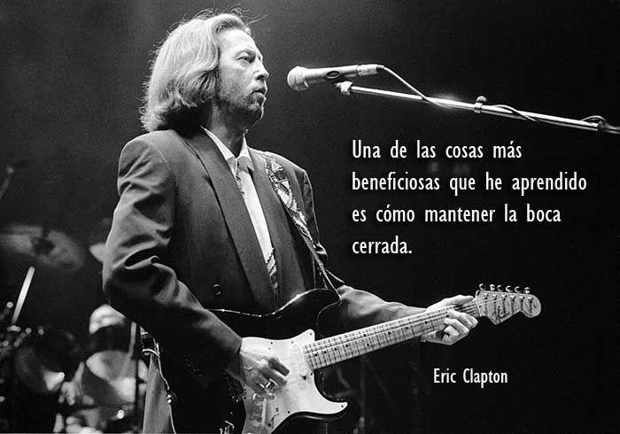 35 Frases De Eric Clapton Sobre La Música Psicoactiva
