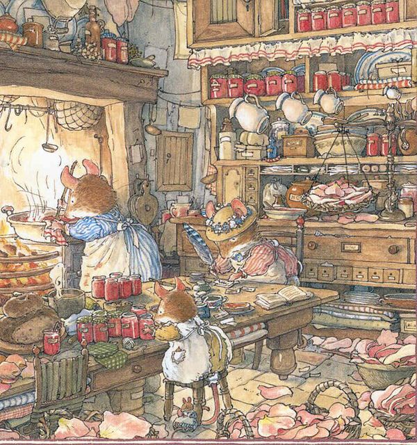 Brambly Hedge Illustration by hvyilnr, via Flickr