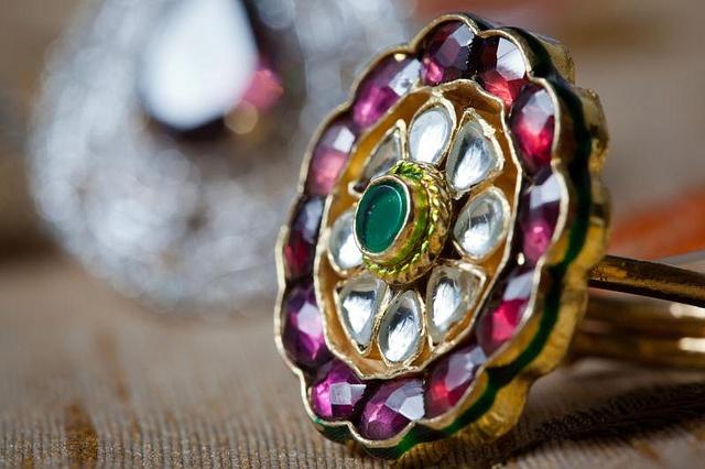The Kundan Ring by Anupam Chatterjee, via Flickr