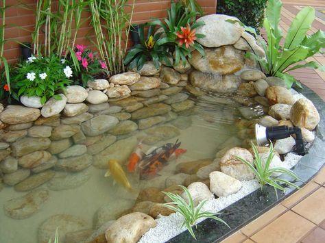Luxury Fazer Um Lago de Carpas No Jardim