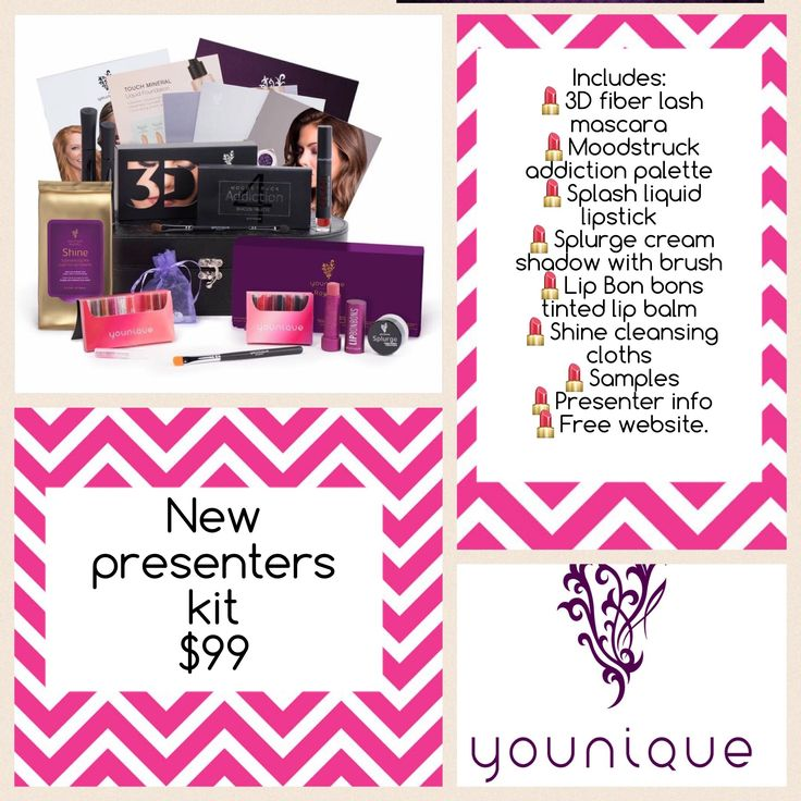 New presenters kit coming September 15th, 2016! Www.youniqueproducts.com/AmberDorsey