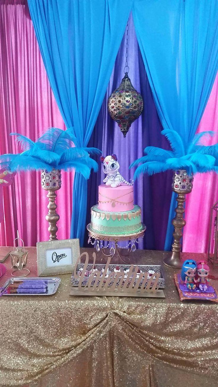 7 Best Shimmer And Shine Birthday Party Ideas Images On