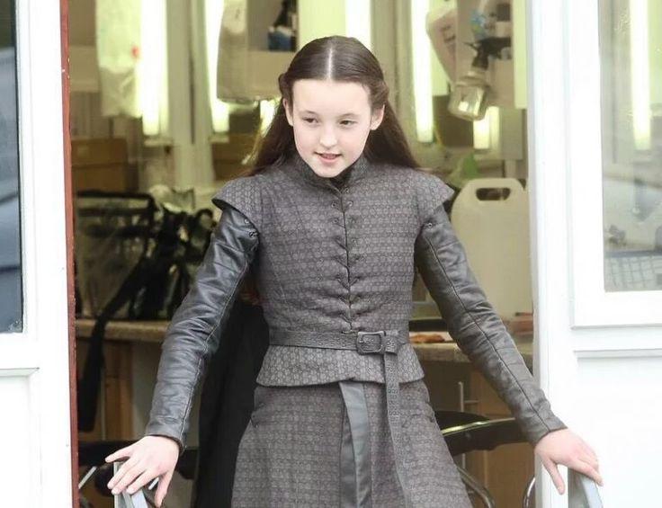 Guess who's back! Bella Ramsey as Lyanna Mormont. (GoT season 7)