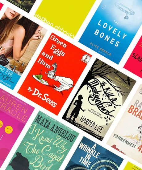 National Banned Book Week 2014 | Some of the most beloved books are banned. Let's celebrate our freedom to read them. #refinery29 http://www.refinery29.com/2014/09/75056/most-popular-titles-banned-books-week-2014