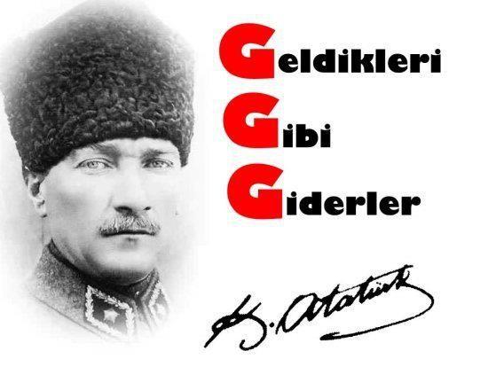 Atatürk resimli Sözü