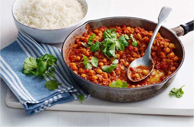 This chickpea curry is Sabrina's mum's signature dish & a real family favourite. Find the recipe, & see more Food Love Stories, over at Tesco Real Food.