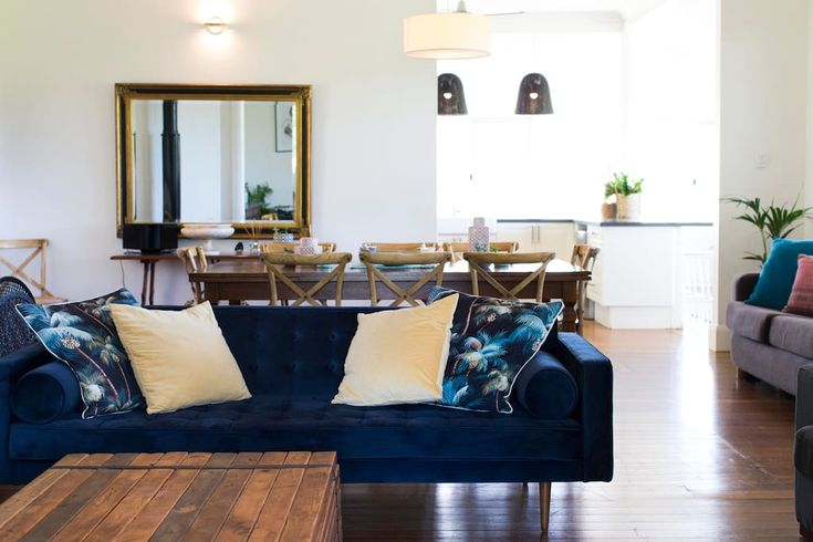 Open plan lounge area/dining room