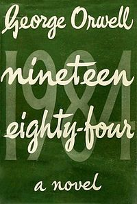 Nineteen Eighty-Four is a dystopian[1] novel by George Orwell published in 1949. The Oceanian province of Airstrip One (formerly known as Great Britain) is a world of perpetual war, omnipresent government surveillance, and public mind control, dictated by a political system euphemistically named English Socialism (Ingsoc)...