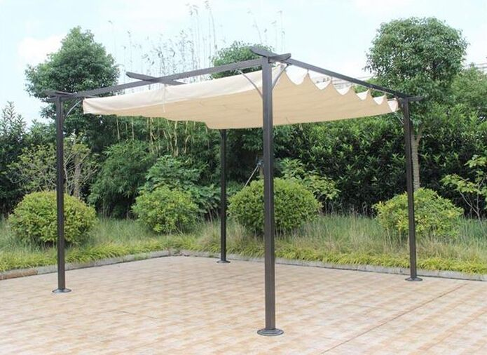 Outdoor garden tent aluminum folding BBQ dining gazebo View aluminum folding gazebo Enjoygroup Product Details from Hangzhou Ouman Leisure Products Co. ... & 18 best Garden arbor and gazebo images on Pinterest | Garden arbor ...