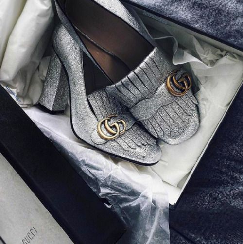 Gucci Metallic Silver