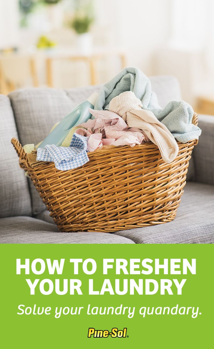 Don't air your dirty laundry, use Original Pine-Sol® Multi-Surface Cleaner to keep your stains under wraps. Here's how to use Pine-Sol® to do your laundry.