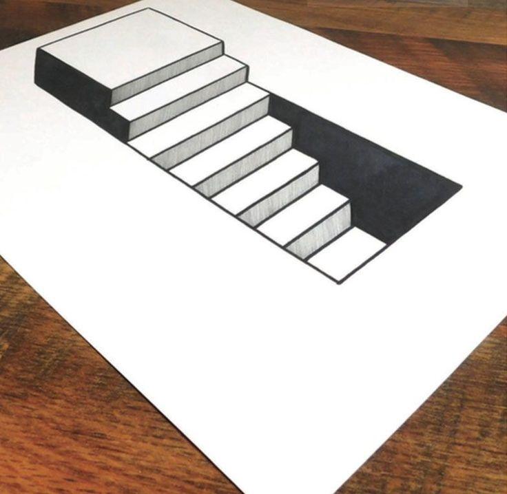 картинки для иллюзии которые можно нарисовать