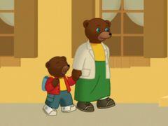 Petit ours brun rentre l 39 cole petit ours brun pinterest - Petit ours brun a l ecole ...