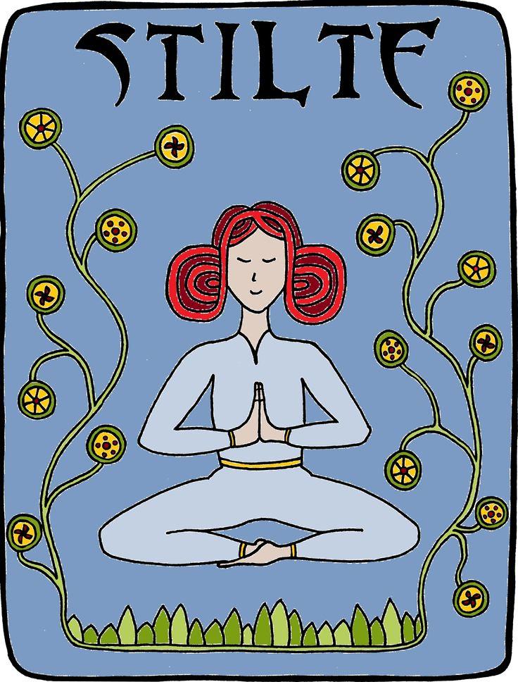 Meditatie... essentieel in mijn yogalessen. Want je aardt, schenkt je lichaam aandacht en daardoor wordt je hoofd leger. En dat voelt heerlijk...