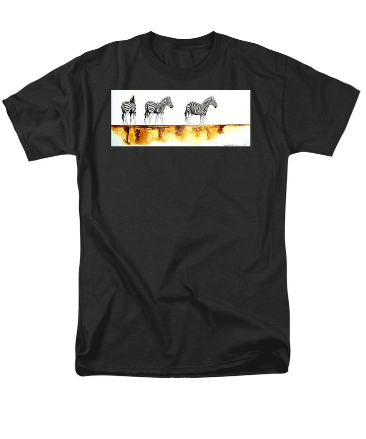 Zebra Trio T-Shirt by Tracey Armstrong