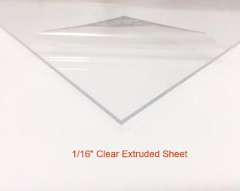 Clear Acrylic Plexiglass Sheet 1 16 Thick Extruded Acrylic Sheets Plexiglass Sheets Acrylic