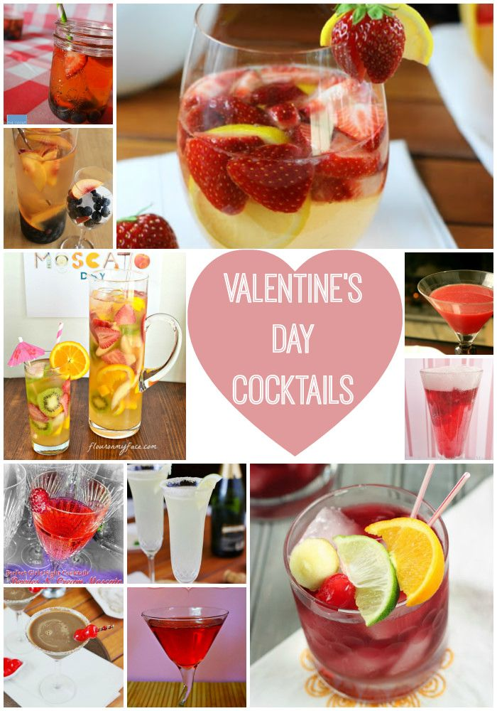 Valentine's Day Cocktail Inspiration >> Sangria roundup!