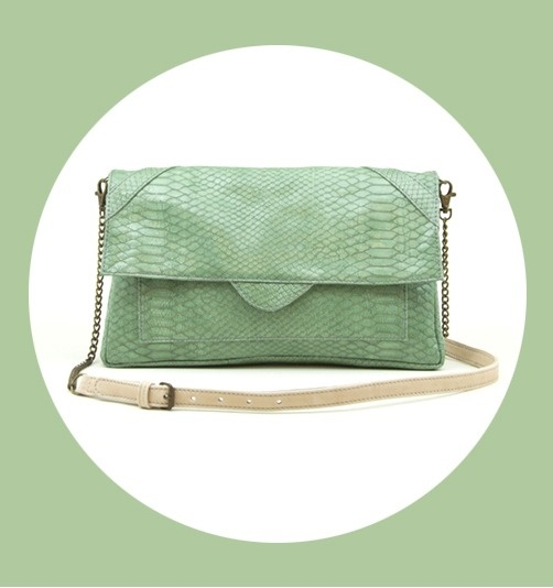 Beatriz Furest green bag