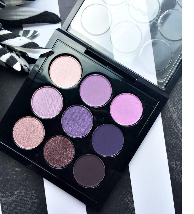 MAC EYE SHADOW PALETTE PURPLE TIMES 9 X9 EYES ON MAC NEW IN BOX AUTHENTIC | Health & Beauty, Makeup, Eyes | eBay!