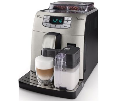 automatic espresso maker and milk frother