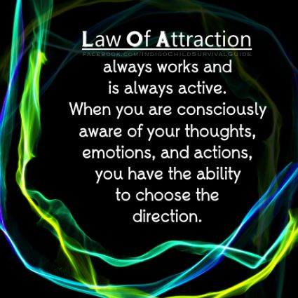 If you tell yourself Law Of Attraction doesn't work, then it won't work. Ironically, the disbelief is working; which means LOA does work. Physical things are fairly easy to manifest, by seeing it as if it is already in the now. The things that can only be felt are manifested when you match the same frequency with your own emotions. If you desire love, you must also BE Love. #LawOfAttraction