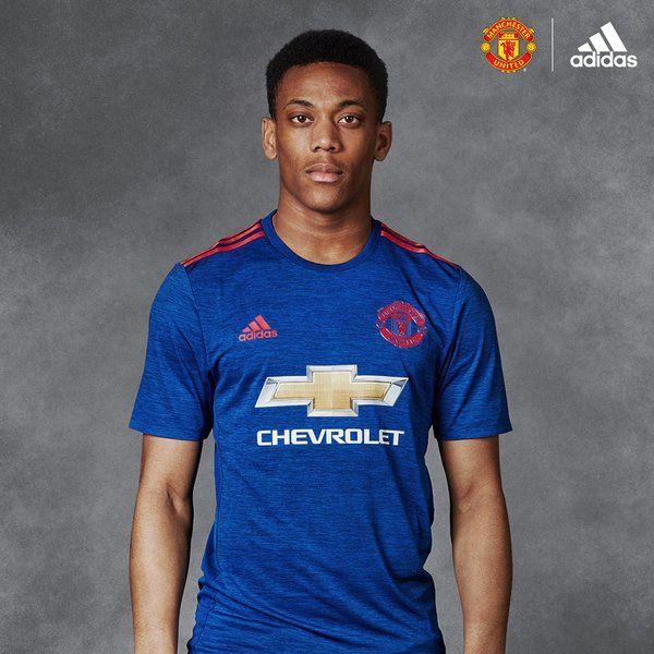 Anthony Martial 2016/17 away kit