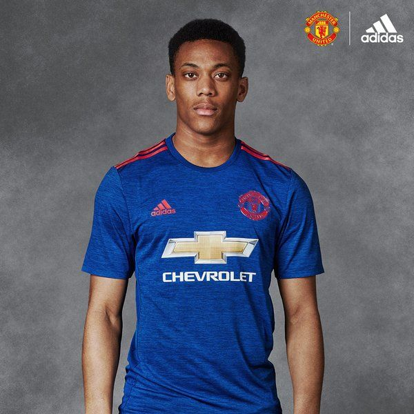 Anthony Martial 2016/17 away kit