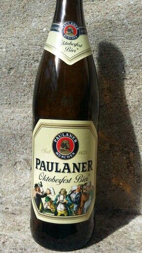 Paulaner Oktoberfest Bier By Paulaner Brauerei #craftbeer