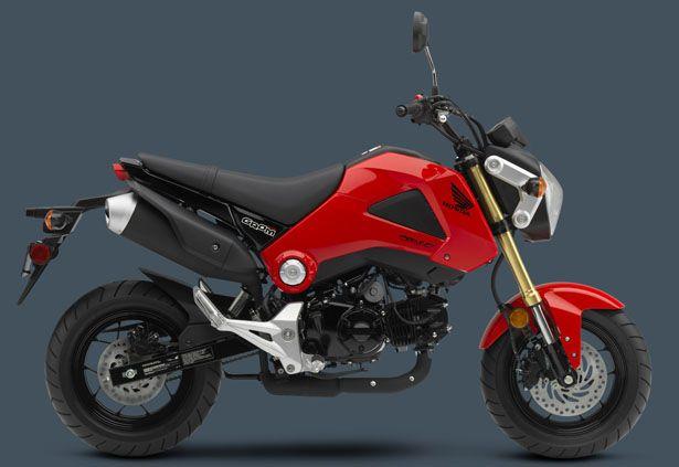 Honda Groom Motorcycle - Small Package, Big Attitude