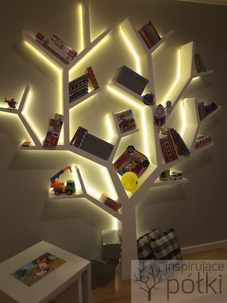 Półka drzewo 240x200x18
