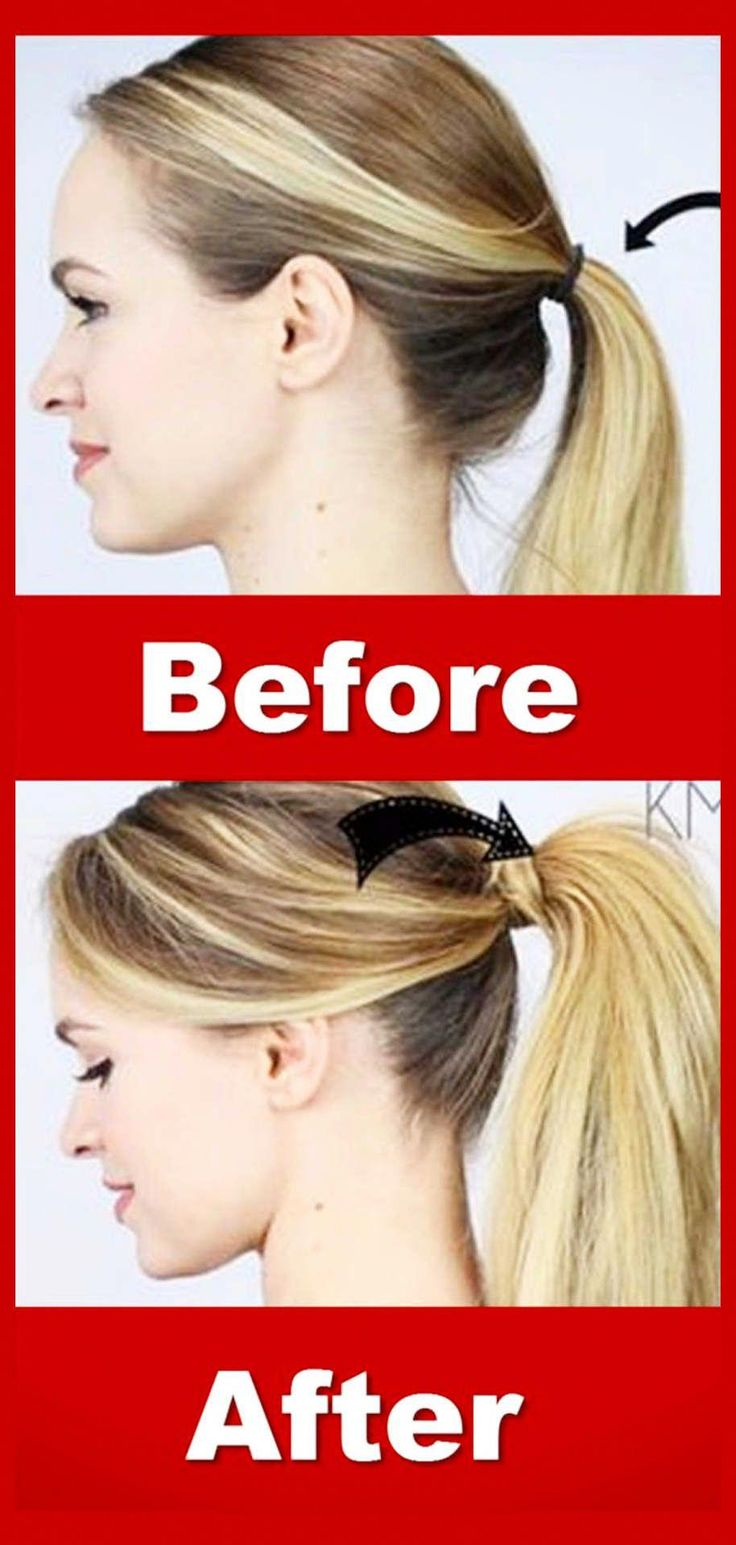 easy lazy hairstyles - super simple high ponytails hairstyles for lazy girls