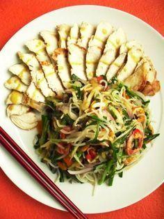 배는 든든~ 살은 쏙쏙~ 《닭가슴살 한식샐러드》 – 레시피 | Daum 요리 - chicken breast salad with mustard sauce