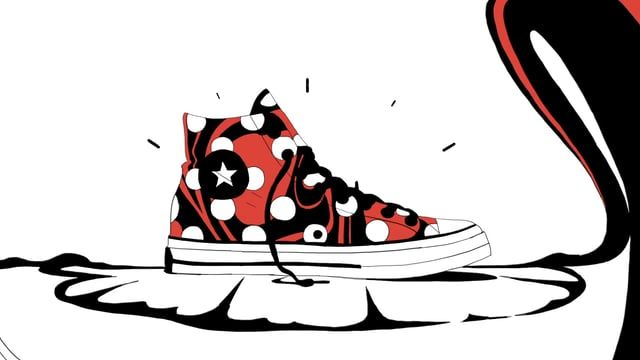 Designed and animated for Converse, 2016 Music by Kenny Kusiak (www.kennykusiak.com)