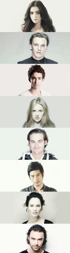 Ladies and gentlemen, the best cast in the world!