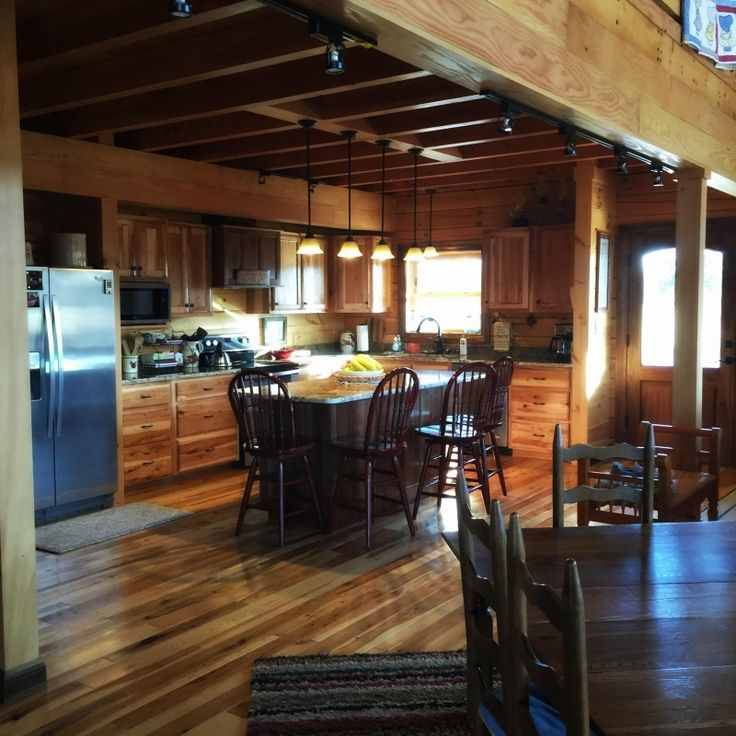 The Riley Home D Log Cabin In Mayfield, Kentucky, Is A Custom Designed