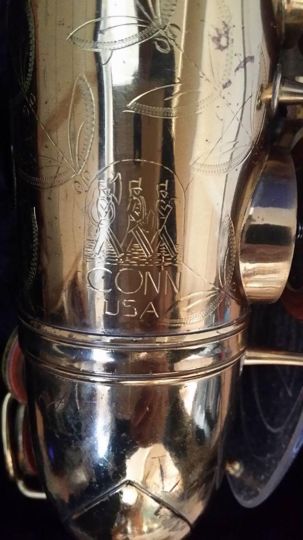 Vintage Elkhart Saxaphone King