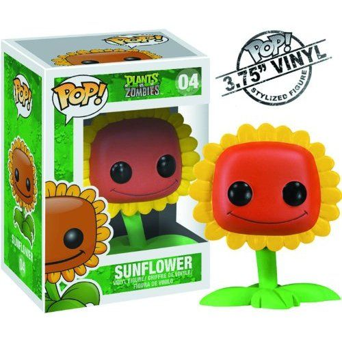 Amazon Com Funko Pop Plants Vs Zombies Sunflower Toys