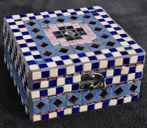 42 Best Mosaic Box Images On Pinterest Craft Ideas Mosaic And Mosaic Art
