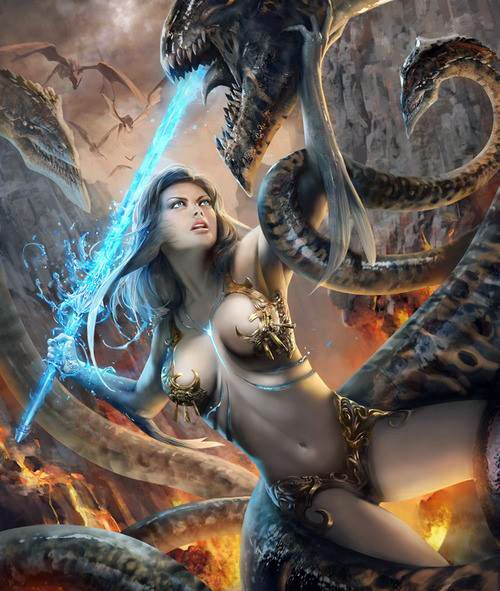 13 Best Sexy Warriors Images On Pinterest: 1253 Best Images About Fantasy Art