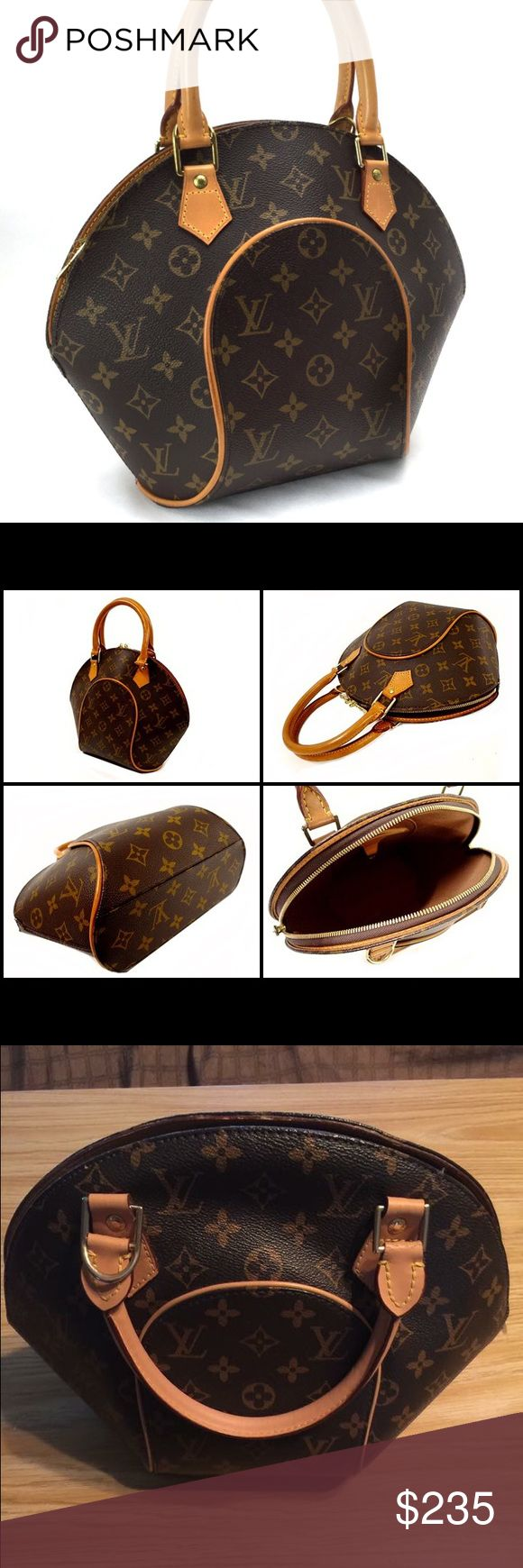 Louis Vuitton Monogram Eclipse Purse Great condition! I purchased this from someone and when I got home with it I noticed it smells like cigarette smoke - I do not smoke, and the smells makes me sick - it is not very strong but I just can't do it.  I will try to get some of it out though! Retails for $640 I bought it for $450 There are some ink stains inside - I will upload photos later of them! The date code is M51127 Height I believe is 11' Offers are welcomed - ask any questions you may…