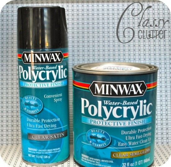 How to spray paint furniture like a pro! - Classy Clutter