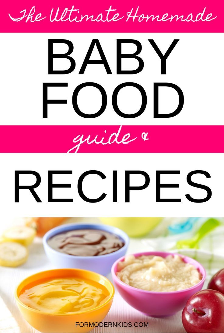 Stage 1, 2 and 3 Homemade Baby Food Recipes and Step-By-Step Guide