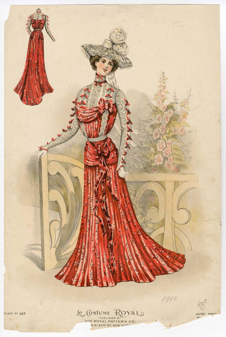 1900 1902 Plate 066 Costume Institute Fashion Plates Digital Collections From The Metropolit Victorian Fashion Fashion Illustration Vintage Fashion Plates