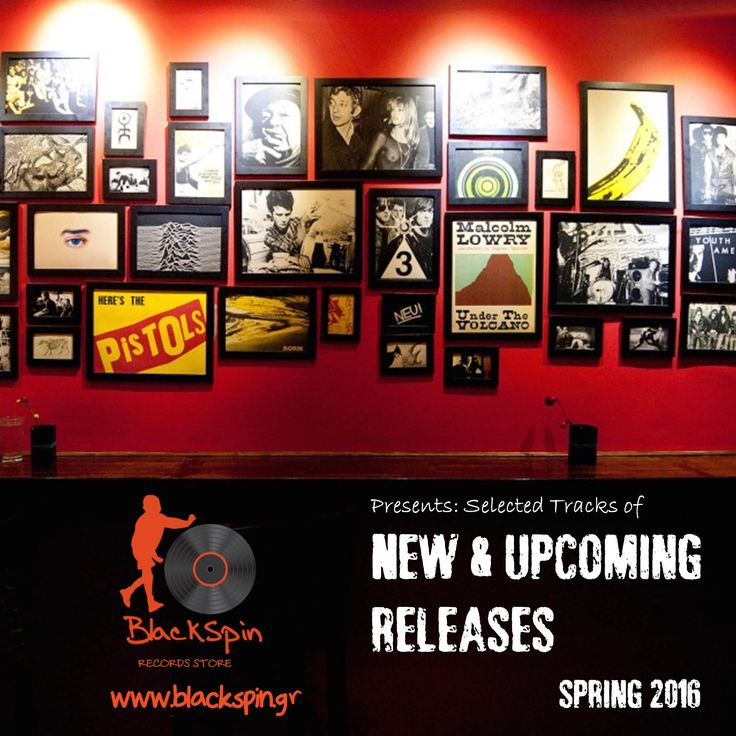 Blackspin Records (www.blackspin.gr) presents: Selected tracks of new & upcoming releases for Spring 2016