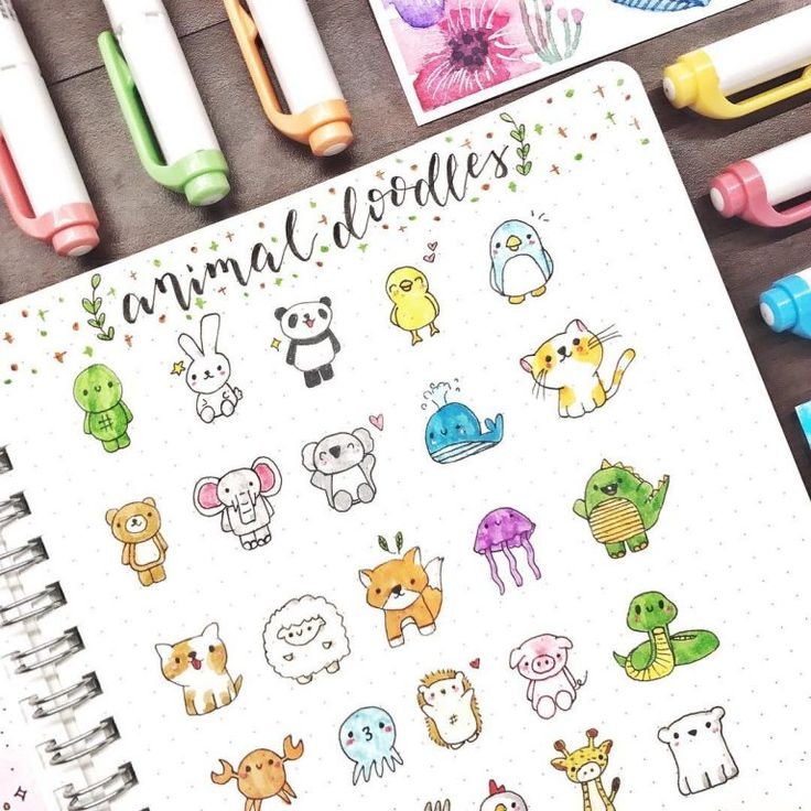 Absolutely Amazing How to Doodle Accounts  – Malen, Basteln, Kreativ sein…