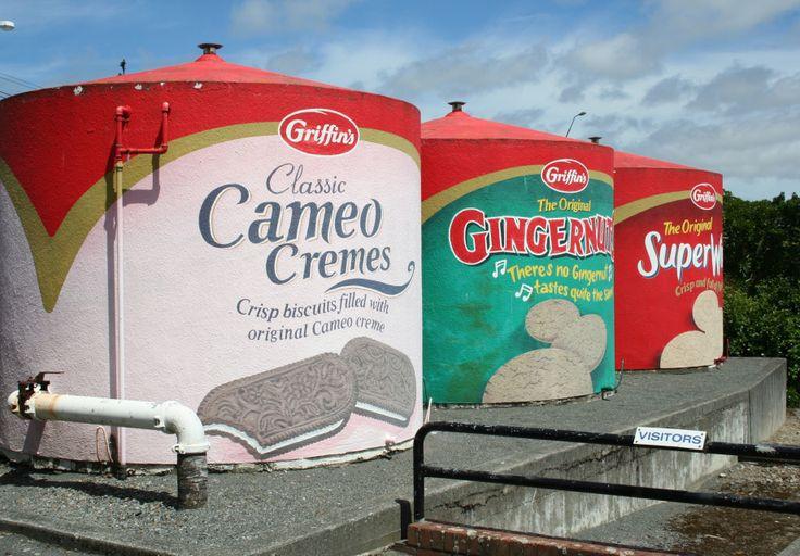 New Zealand cookie factory