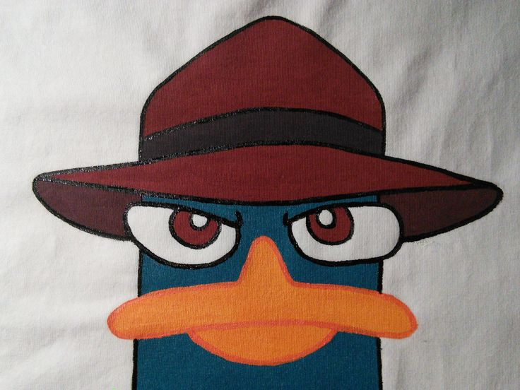 #tshirt #cartoon #platypus #perry