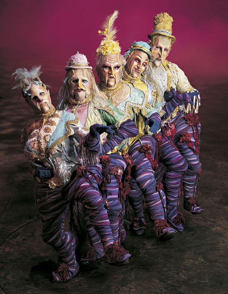Cirque Du Soleil - Alegria - Visit http://www.cirquedusoleil.com/en/home/shows.aspx for information on all shows.